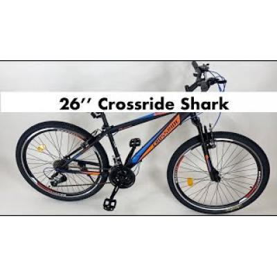 Велосипед Crossride Shark 26 чорний