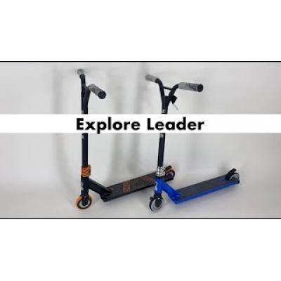 Самокат Explore Leader синій