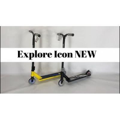 Самокат Explore Icon NEW жовтий