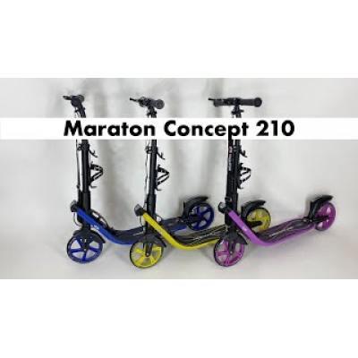Самокат Maraton Concept 210 жовтий