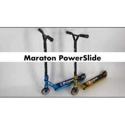 Трюковий самокат Maraton PowerSlide золотий