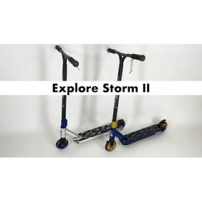 Самокат Explore Storm II сірий