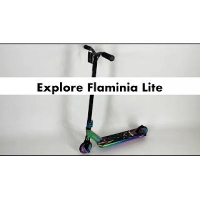 Самокат Explore Flaminia Lite неохром