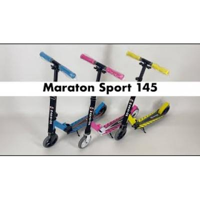 Самокат Maraton Sport 145 синій