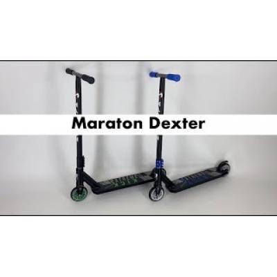 Трюковий самокат Maraton Dexter зелений