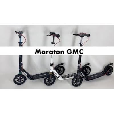 Самокат Maraton GMC чорно-бірюзовий