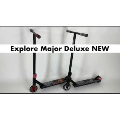 Самокат Explore Major Deluxe чорний