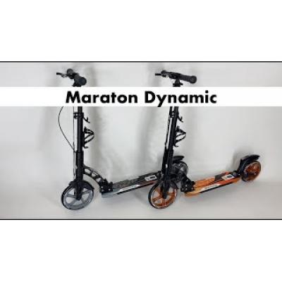 Самокат Maraton Dynamic Disc чорний