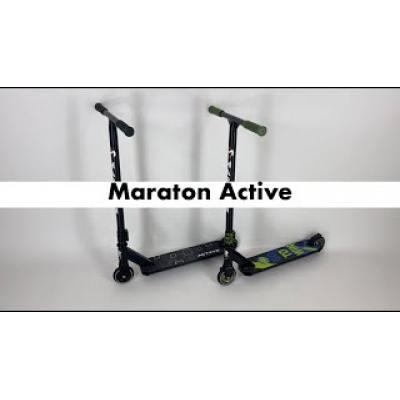 Трюковий самокат Maraton Active зелений