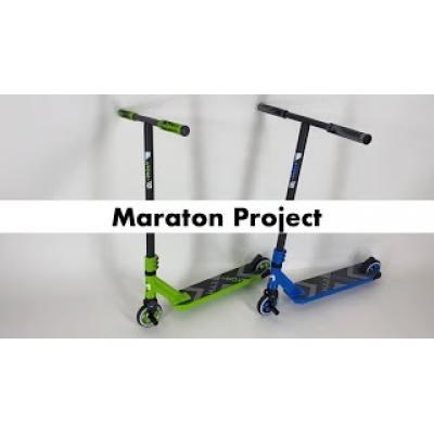 Самокат Maraton Project зелений