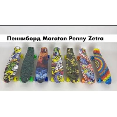 Пенні борд Maraton Zetra зелений