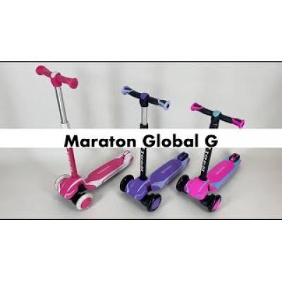 Самокат Maraton Global G триколісний фіолетовий