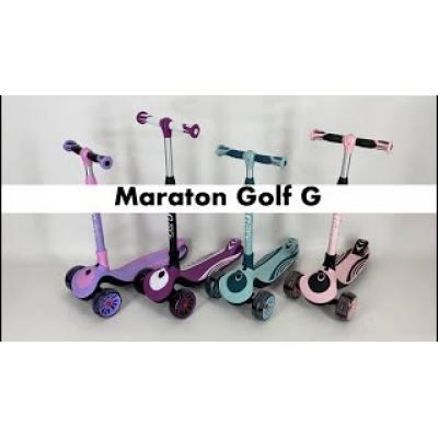 Триколісний самокат Maraton Golf G бірюзовий
