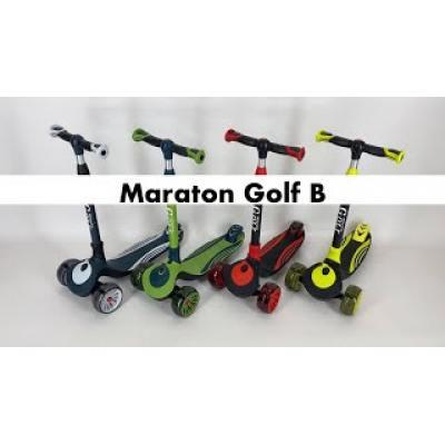 Самокат Maraton Golf B жовтий