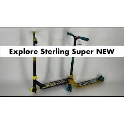 Самокат Explore Sterling Super жовтий